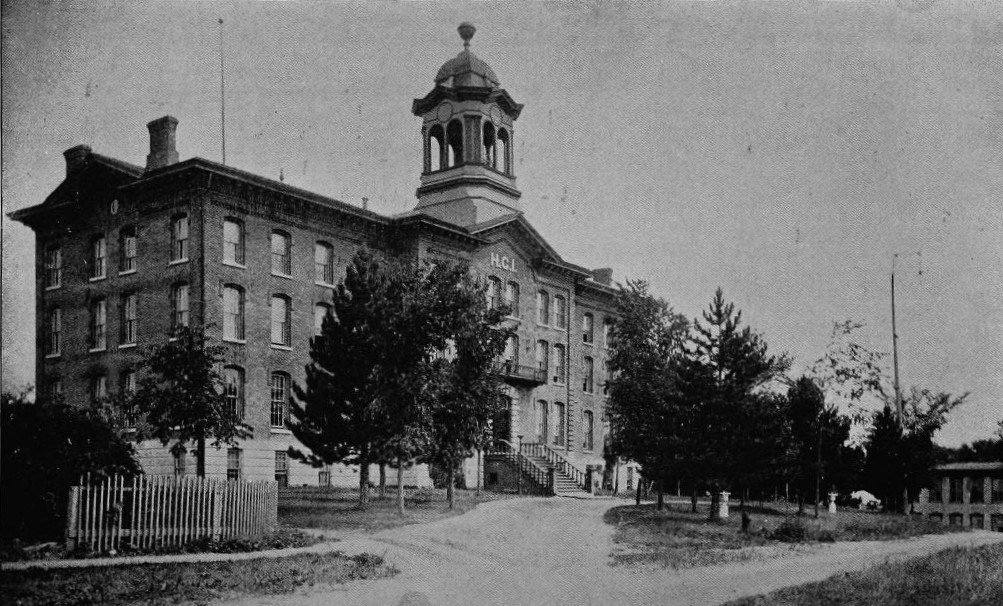 Hungerford Collegiate Institute Photograph