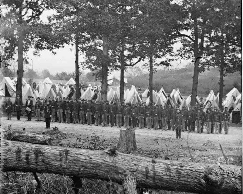 Camp of 35th New York Volunteers, Jefferson County Regiment