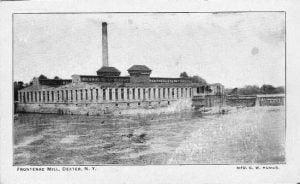 Frontenac Mill Dexter New York