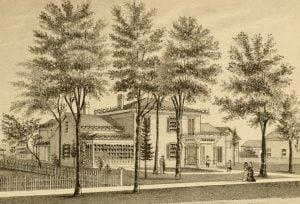 Residence of Thomas P. Saunders