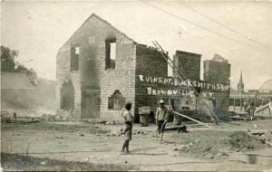 Ruins of Blacksmith Shop, Brownville New York