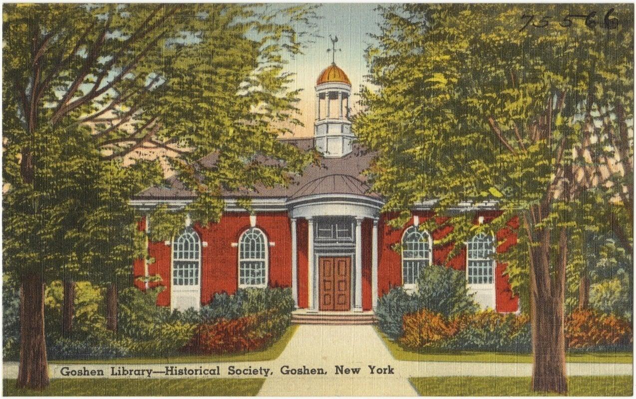 Goshen Library - Historical Society, Goshen, New York