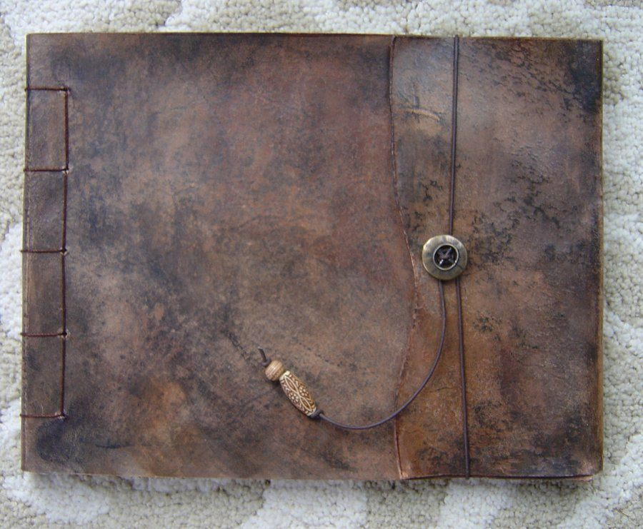 Large Leather Sketchbook