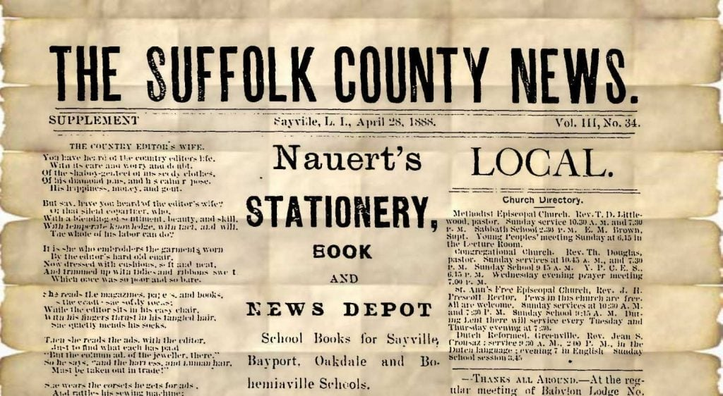 Suffolk County News