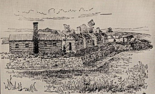 Fort Haldimand, Carleton Island, As It Appeared During The Revolution