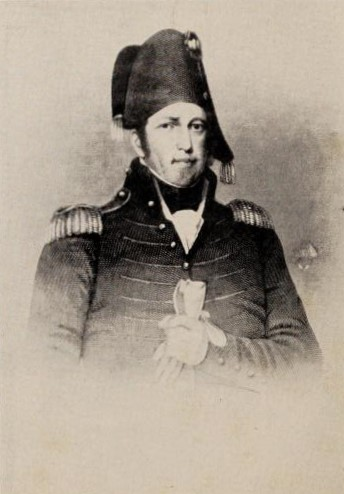 Maj. Gen. Jacob Brown, Commander of the American Forces along the northern New York frontier in the War of 1812