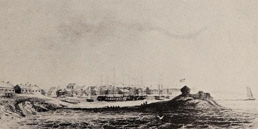 Sackets Harbor, During The War Of 1812