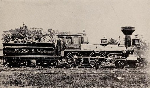 The De Witt C West, An Old Time Northern New York Locomotive