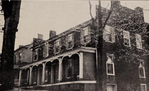 The old brick tavern at Gouverneur, a famous stage coach tavern