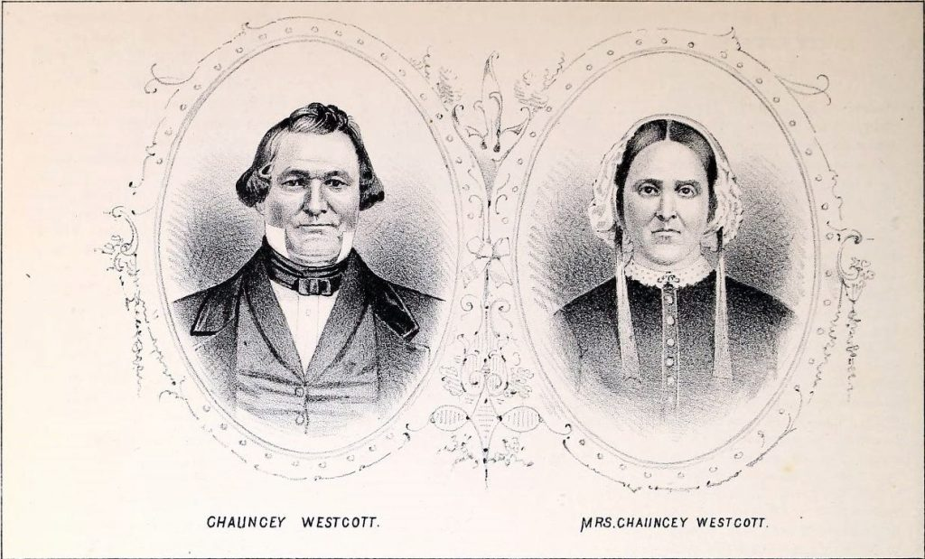 Mr. and Mrs. Chauncey Westcott